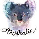 Australian Koala by Donna Rondeau