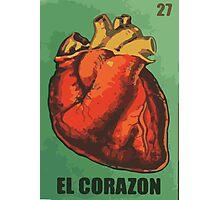 El Corazon aka The heart  Photographic Print