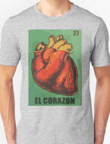 El Corazon aka The heart  Unisex T-Shirt