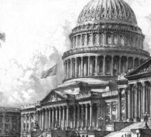 United States Capitol Building Sticker