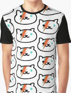 David Meowie Graphic T-Shirt