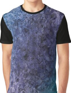 Etched Ice - Ice Blue, Purple, and Teal Overlay Graphic T-Shirt