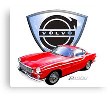 Volvo p1800 Canvas Print