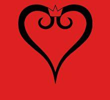 Kingdom Hearts Logo (Black) Unisex T-Shirt