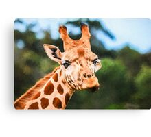 Jolly Giraffe   GO6 Canvas Print