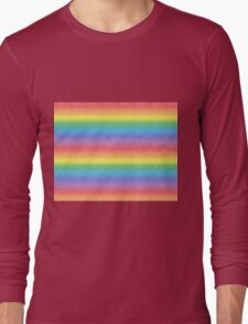 Frosted Rainbow   Long Sleeve T-Shirt