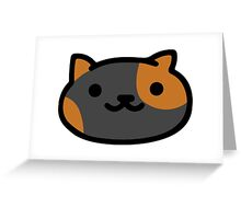 Bandit - Neko Atsume Greeting Card