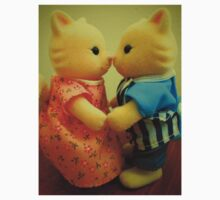 Sylvanian Families ~ Cats in Love Kids Tee