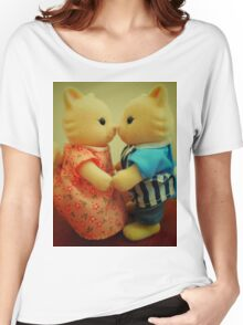 Sylvanian Families ~ Cats in Love Women's Relaxed Fit T-Shirt