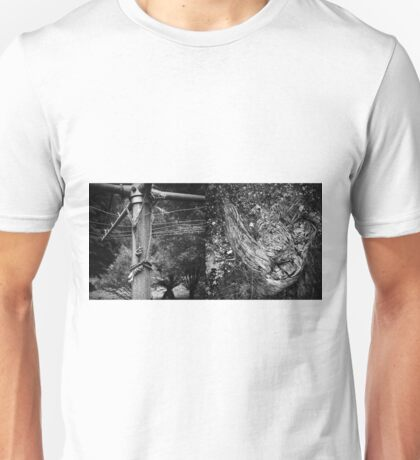 Abandoned Diptych Unisex T-Shirt