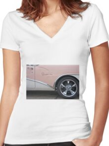 Buick Special Women's Fitted V-Neck T-Shirt