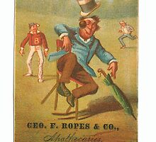 "Vintage Baseball Card ""Judgment"" by reddkaiman"