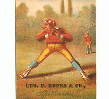 "Vintage Baseball Card ""Twist"" by reddkaiman"