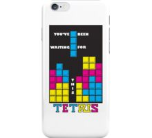 You've been waiting for this - Tetris iPhone Case/Skin