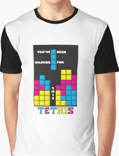 You've been waiting for this - Tetris Graphic T-Shirt