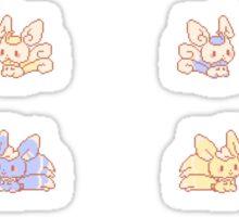 Meowstic pokedolls Sticker