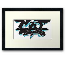 CAT | Graffiti Framed Print