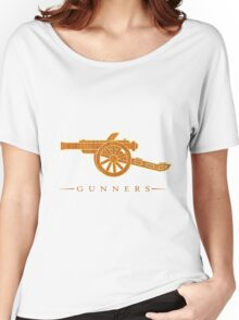The Gunners Arsenal Women's Relaxed Fit T-Shirt