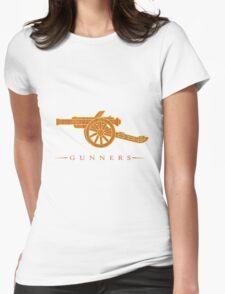 The Gunners Arsenal Womens Fitted T-Shirt