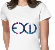 Exid Logo - Smokey Womens Fitted T-Shirt