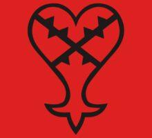 Heartless Logo (Black) - Kingdom Hearts by Studio Momo╰༼ ಠ益ಠ ༽