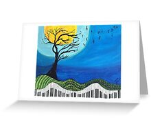 Tree Notes Greeting Card