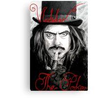 Vladislav the Poker Canvas Print