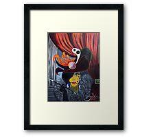 The She Devil.. Framed Print