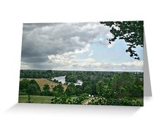 The Thames from Richmond Hill Greeting Card