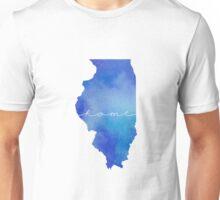 Illinois watercolor home Unisex T-Shirt