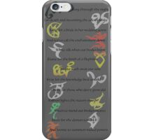 Shadowhunters Nursery Rhyme iPhone Case/Skin