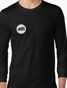 Arctic Monkeys White Circle Long Sleeve T-Shirt