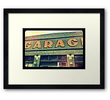 The Garage Pool Hall, Seattle WA Framed Print