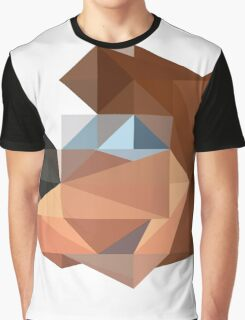 Banjo Polygon Graphic T-Shirt