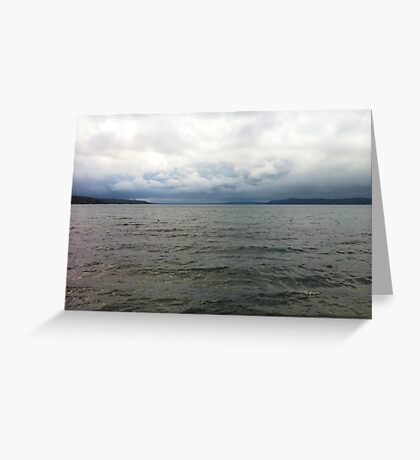 Cloudy Seascape Greeting Card