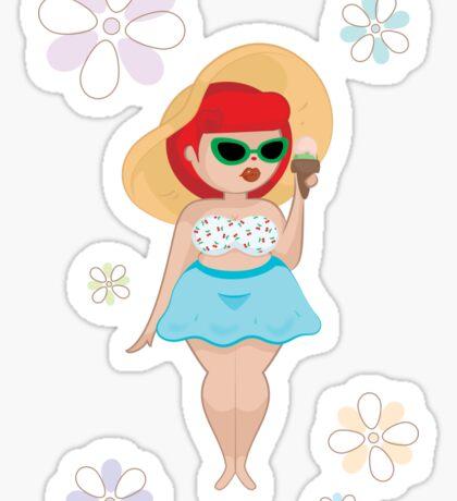 Summer Love Sticker