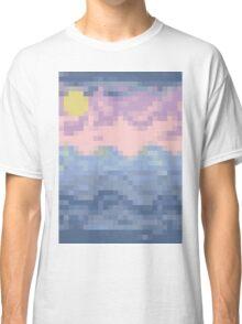 8 Bit Blues - Ocean Sea Classic T-Shirt