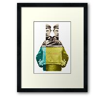 Mugshot - Your name here Framed Print