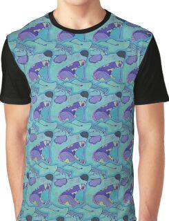 bark blue Graphic T-Shirt
