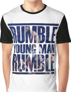 Anthony Rumble Johnson Graphic T-Shirt