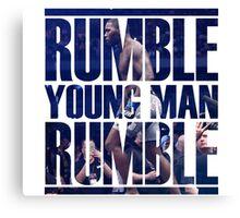 Anthony Rumble Johnson Canvas Print