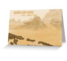 The Martian Greeting Card