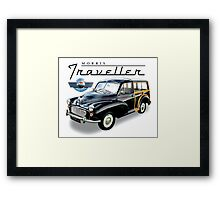 Morris Traveller woody wagon Framed Print