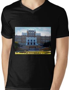 Central High School On  A Glorious Day Mens V-Neck T-Shirt