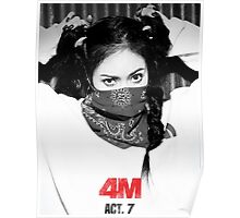 hyuna 4M act7 Poster