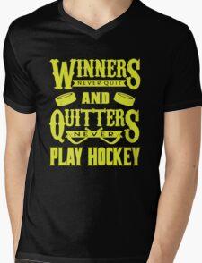 Hockey is for Winners Mens V-Neck T-Shirt