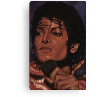 MJ Victory  Canvas Print