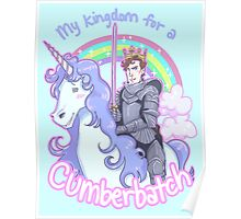My kingdom for a Cumberbatch Poster