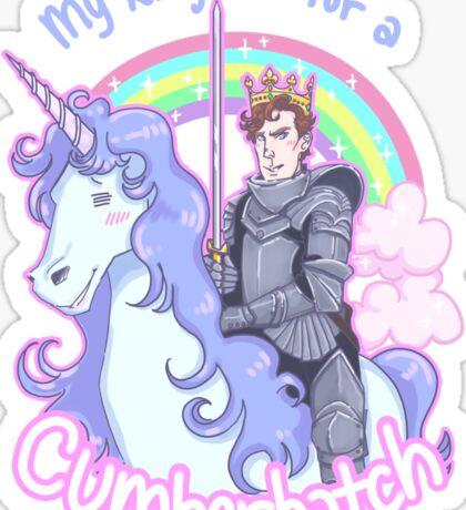 My kingdom for a Cumberbatch Sticker