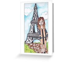 Journey To France Greeting Card